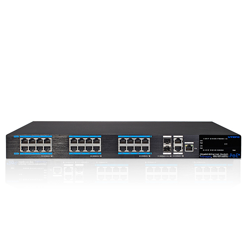 24 Ports PoE Full Gigabit Managed Ethernet Switch UTP7524GE-POE-A1